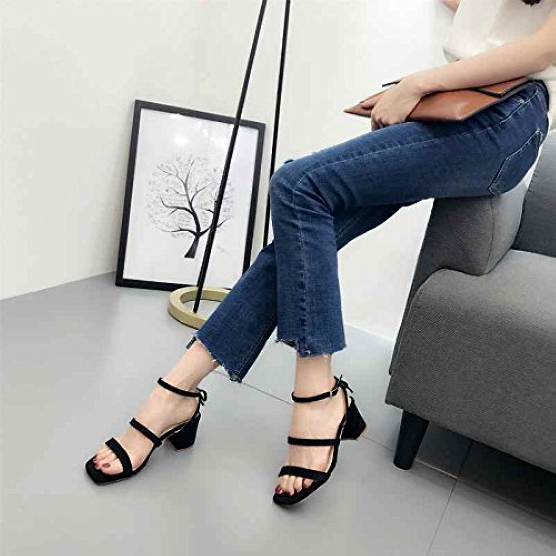 2618277fe4f199 sandales à talon original Chaussure shaoge épaisses chaussures trois trois  trois mots avec vent fée b0753lndp2 chaussures à talons des parents | Une  Bonne ...