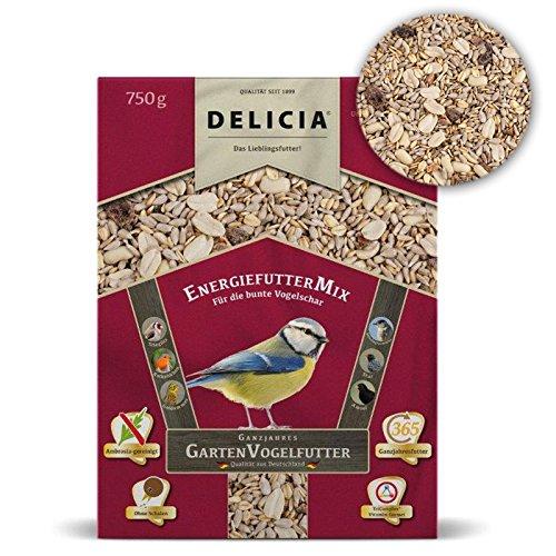 Doublure Doublure Delicia énergie Mix d'Hiver pour oiseaux sauvages, 750 g