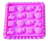 Silikomart 199261 Bonbonform Easy Candy BonBon inklusive Rezeptbuch