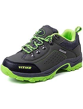 Zapatillas de Trekking y Senderismo Botas de Senderismo Unisex Niños
