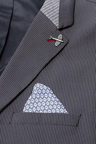 YAKE by S.O.H.O. NEW YORK Sakko Herren Slim Fit - Blazer Herren Sportlich York Anthrazit_010