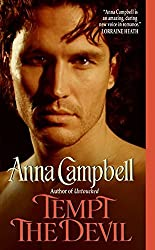 Tempt the Devil by Anna Campbell (2008-12-30)