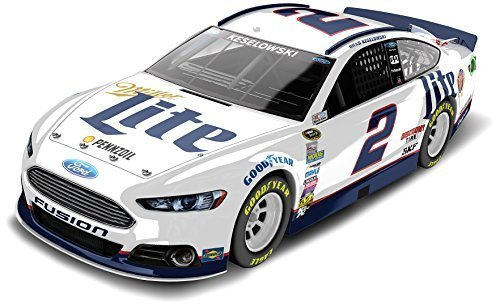 lionel-racing-cx25821m5bw-brad-keselowski-2-miller-lite-2015-ford-fusion-124-scale-arc-hoto-official