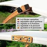 Textil Holz Doppel Gartenliege mit Sonnendach und Kissen von Ampel 24 - 4