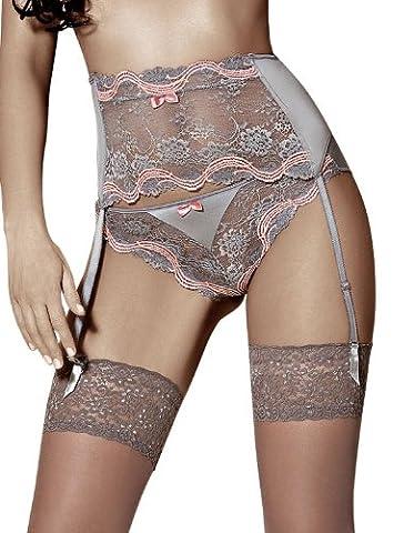 Roza Deckenleuchte Alegra Luxus Designer-Straps-Gürtel, breit, cremefarben (Dkny Lingerie)