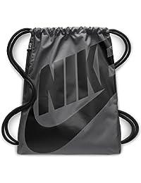Nike Nk Heritage Gmsk Bolsa de Tela y de Playa, Unisex Adultos, Gris (Dark Grey/Black / Blac)
