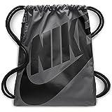 Nike Heritage Gmsk Sacco da Palestra, Nessun genere, Dark Grigio/Nero/Nero, Taglia Unica