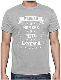 Camiseta para Hombre - Abuelo, El Hombre, El Mito, La Leyenda - Regalo Original para el Abuelo en el Día de los…