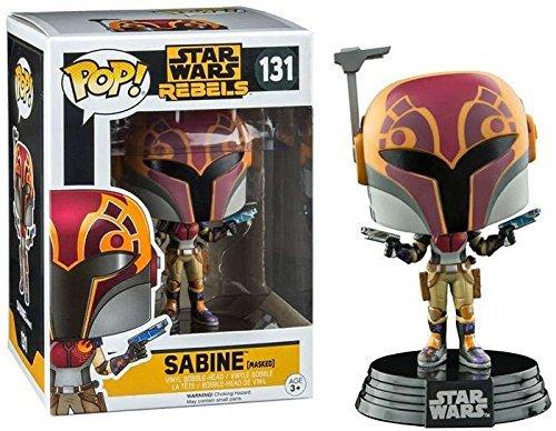 Funko - Figurine Star Wars Rebels - Sabine In Helmet Exclu Pop 10cm - (Star Sabine Wars)