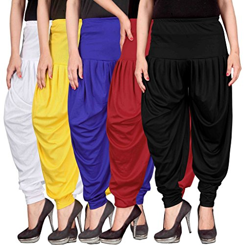Dhoti pants for womens -Culture the Dignity Women's Lycra Dhoti Patiala Salwar...