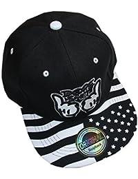 New Style Snapback Cap (Dope Stars Black)