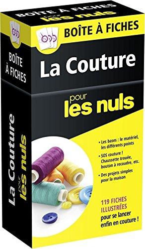 Boîte à fiches La Couture pour les nuls : 119 fiches illustrées