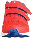 adidas Performance Unisex-Kinder Hyperfast CF Laufschuhe, Rot (Hi-Res Red F13/Metallic Silver/Blue Beauty F10) 34 EU - 4