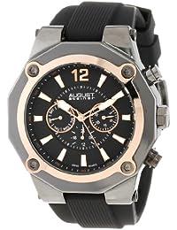 August Steiner AS8080RG - Reloj de cuarzo para hombres, color negro