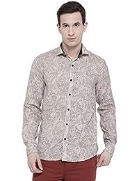 Dennison Men's Floral Slim Fit Casual Shirt