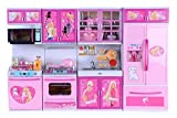 Best Barbie Kitchen Playsets - Tabu Toys World Dream House Kitchen Set Review