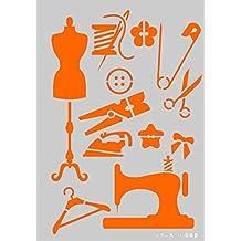 Stencil Plantilla para DIY proyectos/costura diseño