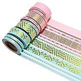 K-LIMIT 10er Set Washi Tape Dekoband Masking Tape Klebeband Washitape Scrapbooking DIY Weihnachten Christmas 6166