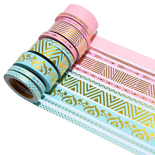Washi Tape/ Masking Tape, 10er Set