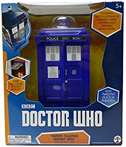 Dr Who - Tirelire Tardis - Bleu