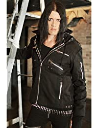 Mason Jacket Men Black Vixxsin Alternative Emo Punk Goth Osiris Fashion New