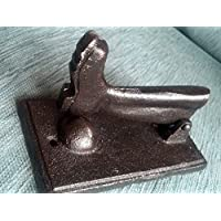 Wellington Boot cast iron door knocker Paperweight