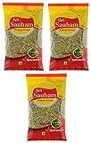 #6: Sri Sauham Saunf Big, 100 g (Pack of 3)