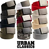 Urban Classics Unisex-Erwachsene Canvas Belt Gürtel