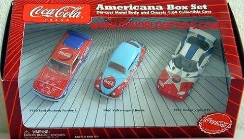 Johnny Lightning Coca-Cola Cars Americana Box Set 1 by Johnny Lightning