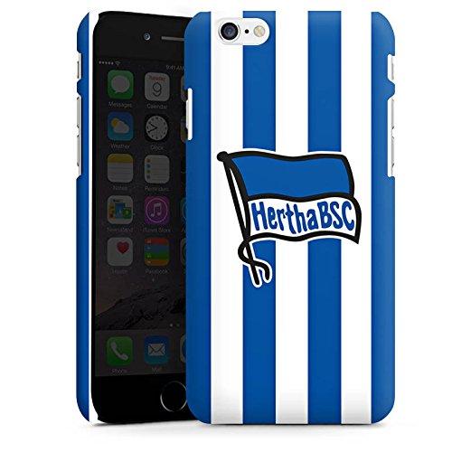 Apple iPhone X Silikon Hülle Case Schutzhülle Hertha BSC Fanartikel Fußball Bundesliga Premium Case matt