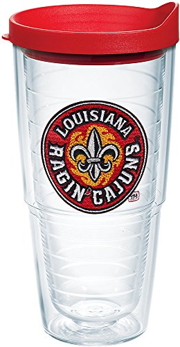 Tervis 1060830 Boston College Eagles Logo Tumbler with Emblem and Black Lid 16oz, Clear Lafayette Tumbler