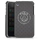 DeinDesign Coque Compatible avec Apple iPhone 3Gs Étui Housse Paris Saint-Germain Logo PSG