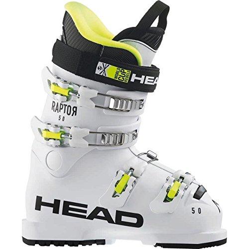 """HEAD Kids Skischuhe Raptor 50"""" Weiss (100) 21"""