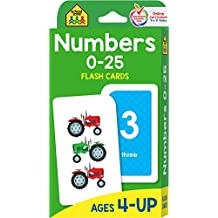 Numbers 0-25 (Flash Card)