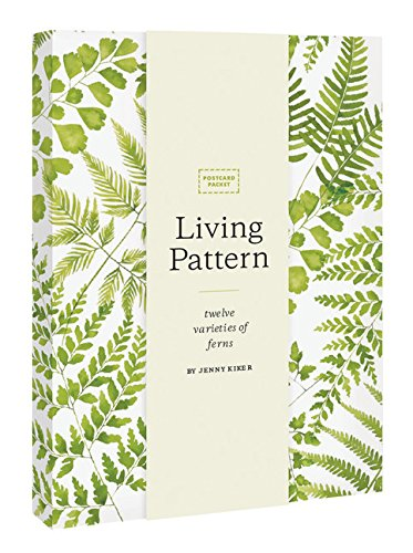 Living pattern postcard packet