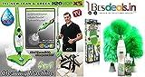 Best Deals - H2O MOP X5 STEAM MOP 5 IN 1...