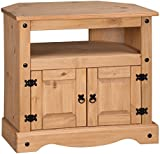 Mercers Furniture Corona Corner TV Unit - Pine