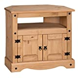 Mercers Furniture Corona Corner TV Unit - Pine (Kitchen & Home)