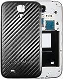 mumbi Akkudeckel Samsung Galaxy S4 Akkufachdeckel - Hard Case schwarz Carbon Optik
