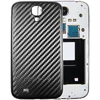 mumbi Akkudeckel für Samsung Galaxy S4 Akkufachdeckel - Hard Case schwarz Carbon Optik