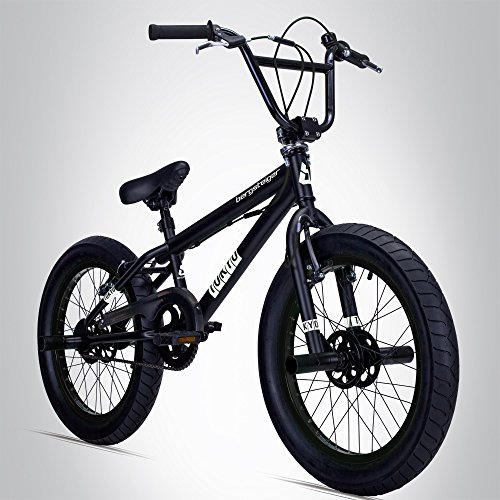 Bergsteiger Tokyo 20 Zoll BMX, Fatbike, 360° Rotor-System, Freestyle, 4 Stahl Pegs, Kettenschutz, Freilauf -