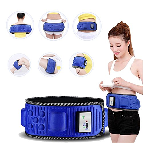 Aozzy Electric Lose Weight Vibration Waist Massage Slimming Belt Multifunction Adjustable Body Trimming Waist Recover Body Shaper Training