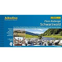 Bikeline Flussradwege Schwarzwald. Tour de Murg, Kinzigtal-Radweg, Enztal-Radweg, Nagoldtalradweg, Schwarzwald Panorama-Radweg,  1 : 75 000, 670 km, wetterfest/reißfest, GPS-Tracks