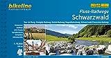 Bikeline Flussradwege Schwarzwald. Tour de Murg, Kinzigtal-Radweg, Enztal-Radweg, Nagoldtalradweg, Schwarzwald Panorama-Radweg,  1 : 75 000, 670 km, wetterfest/reißfest, GPS-Tracks - bikeline