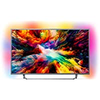Philips 55PUS7303/12 139 cm (55 inch) LED Ambilight, 4 K Ultra HD Triple Tuner, Smart TV)