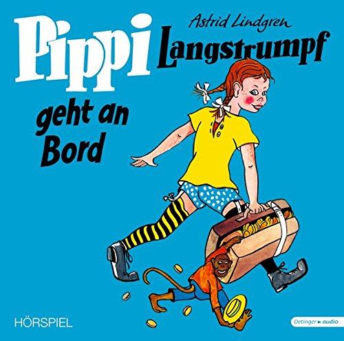 : Pippi Langstrumpf geht an Bord – Vinyl Ausgabe (Schallplatte): Hörspiel, ca. 52 min. (Vinyl)