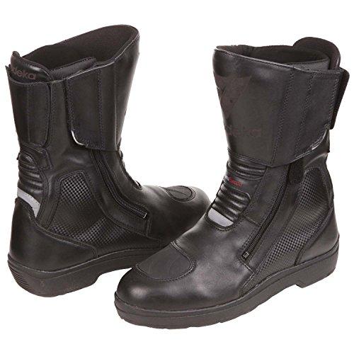 Modeka  TRANSEUROPE, Chaussures de sécurité pour homme noir noir Taille 43