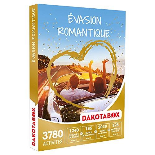 DAKOTABOX - Coffret Cadeau - ÉVASION ROMANTIQUE - 3780 activités pour s'évader
