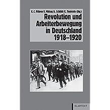 Revolution und Arbeiterbewegung in Deutschland 1918-1920 (Veröffentlichungen des Instituts für soziale Bewegungen, Schriftenreihe A)