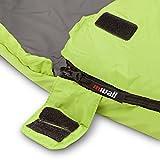 Mivall Patrol lemon Hüttenschlafsack Schlafsack für Trekking Reise Touren ultraleicht kompakt und warm Sommerschlafsack -